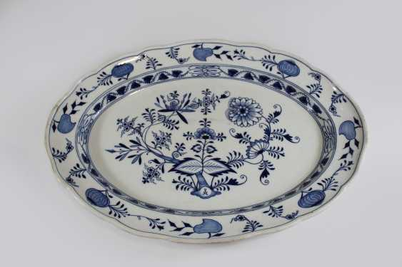 Large meat plate, staatl. Meissen - photo 1