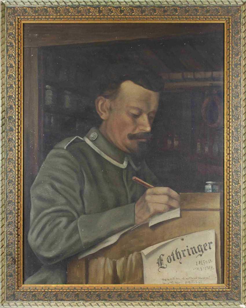 Портрет солдата Первой мировой войны, 1 ч. 20 веке - фото 2
