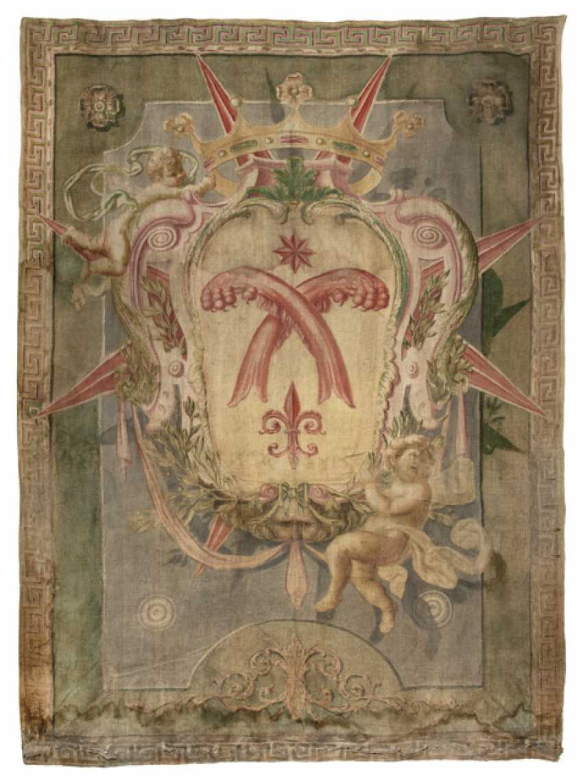 Two Coats Of Arms Paintings - photo 2