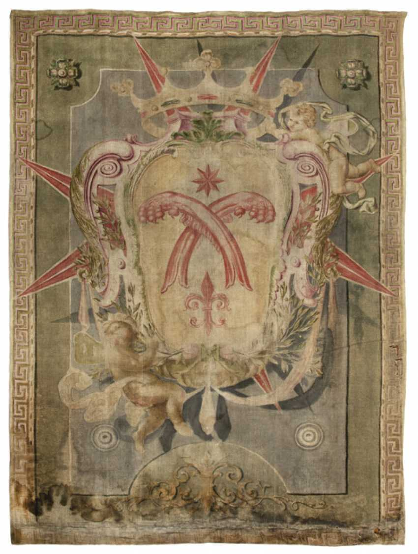 Two Coats Of Arms Paintings - photo 3