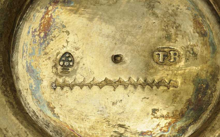Two bowls with enamel painting , Augsburg, 1701 - 1705, Tobias Baur - photo 2