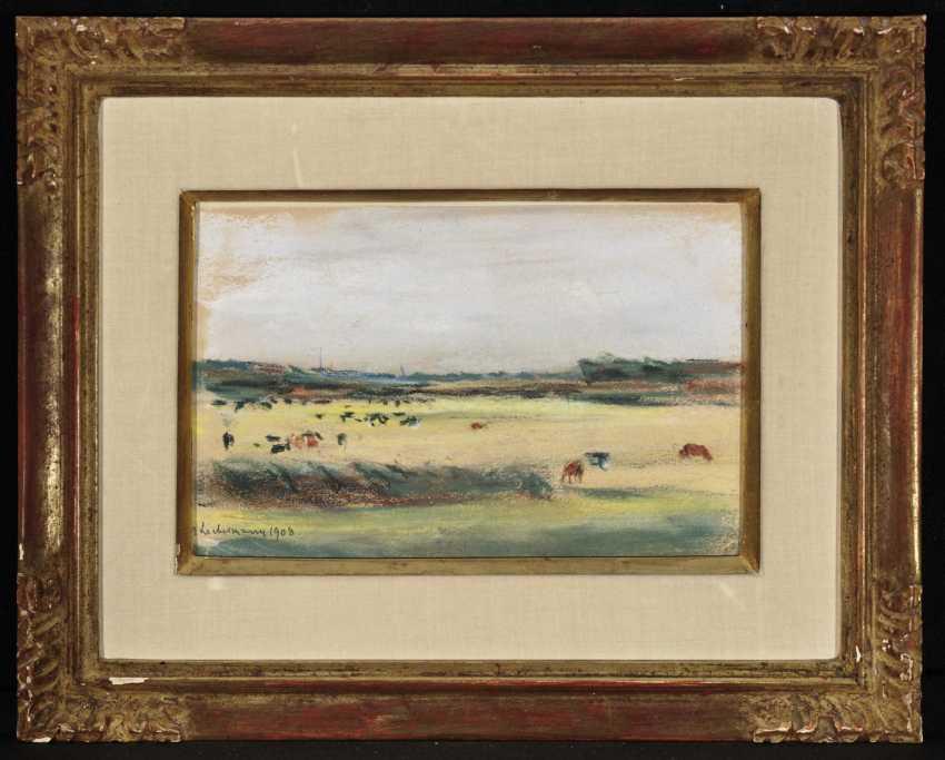 Landscape with grazing cows , Liebermann, Max 1847-Berlin - 1935 ibid. - photo 2