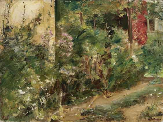 Flower terrace in the Wannsee garden to the North-East, 1920 (?) , Liebermann, Max 1847-Berlin - 1935 ibid. - photo 1