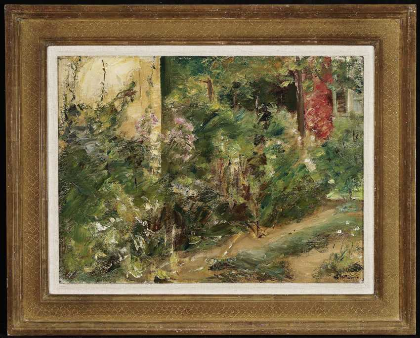 Flower terrace in the Wannsee garden to the North-East, 1920 (?) , Liebermann, Max 1847-Berlin - 1935 ibid. - photo 2