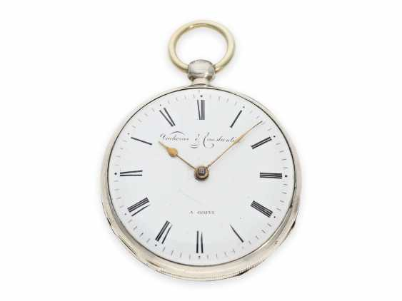 Pocket watch: one of the earliest known pocket watches by Vacheron & Constantin with spindle work, Geneva, CA. 1820 - photo 1