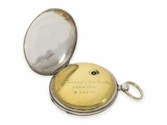 Pocket watch: one of the earliest known pocket watches by Vacheron & Constantin with spindle work, Geneva, CA. 1820 - photo 3