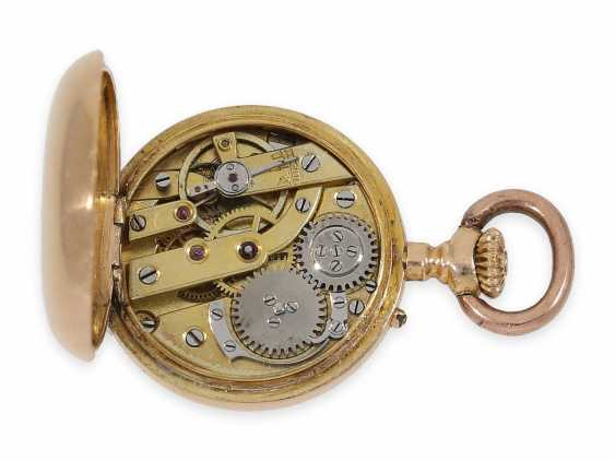 Pocket watch/Anhängeuhr: rarity, one of the smallest of the Louis XV precision pocket watches in the world, Auguste Ecalle Palais Royal, Paris, CA. 1880 - photo 4