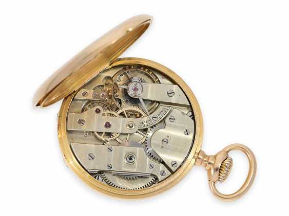 Pocket watch: elegant men's pocket watch by Patek Philippe with original box, Anchor chronometer, supplied to the chronometer-maker Rodanet in Paris, CA. 1885 - photo 3