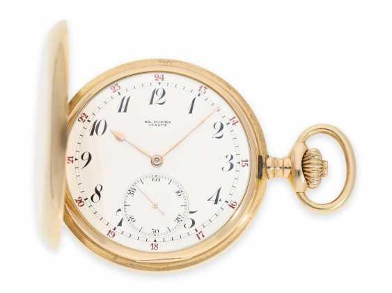 """Карманные часы: очень тяжелый Якорь Женеве хронометров особое качество, """"Chronometre Du Bois"""" Рио-де-Жанейро, №84187, ок. 1900 - фото 1"""
