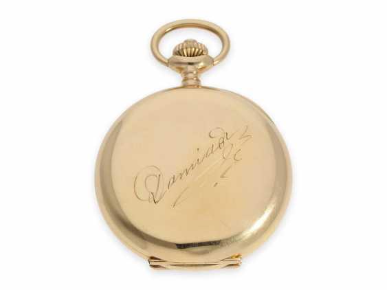 """Карманные часы: очень тяжелый Якорь Женеве хронометров особое качество, """"Chronometre Du Bois"""" Рио-де-Жанейро, №84187, ок. 1900 - фото 3"""
