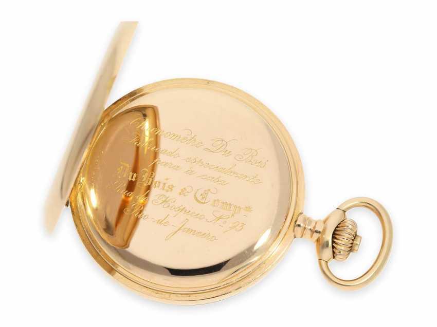"""Карманные часы: очень тяжелый Якорь Женеве хронометров особое качество, """"Chronometre Du Bois"""" Рио-де-Жанейро, №84187, ок. 1900 - фото 4"""