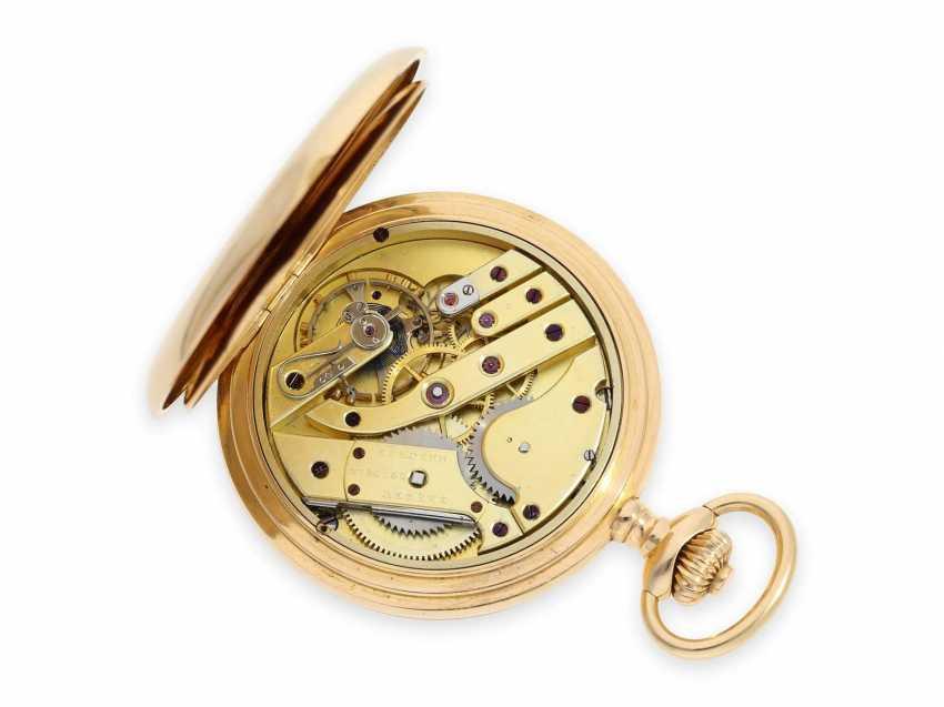 """Карманные часы: очень тяжелый Якорь Женеве хронометров особое качество, """"Chronometre Du Bois"""" Рио-де-Жанейро, №84187, ок. 1900 - фото 6"""