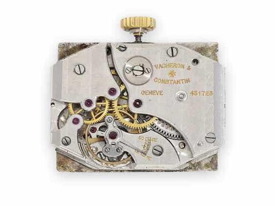 Watch: early Vacheron & Constantin men's watch with rare form of the housing, Geneva 1943 - photo 2