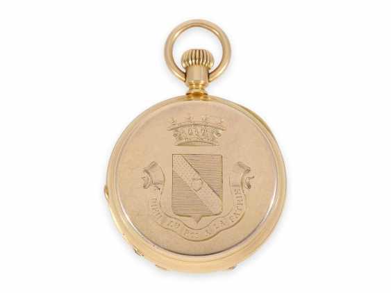 Карманные часы: раннее Patek Philippe золото savonnette, Якорь хронометров № 45207, приблизительно 1870 - фото 2