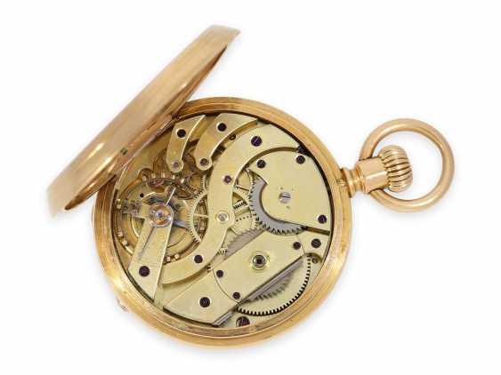 Карманные часы: раннее Patek Philippe золото savonnette, Якорь хронометров № 45207, приблизительно 1870 - фото 4