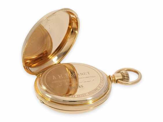 Карманные часы: раннее Patek Philippe золото savonnette, Якорь хронометров № 45207, приблизительно 1870 - фото 6