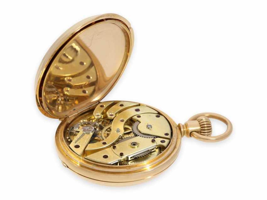 Карманные часы: раннее Patek Philippe золото savonnette, Якорь хронометров № 45207, приблизительно 1870 - фото 7