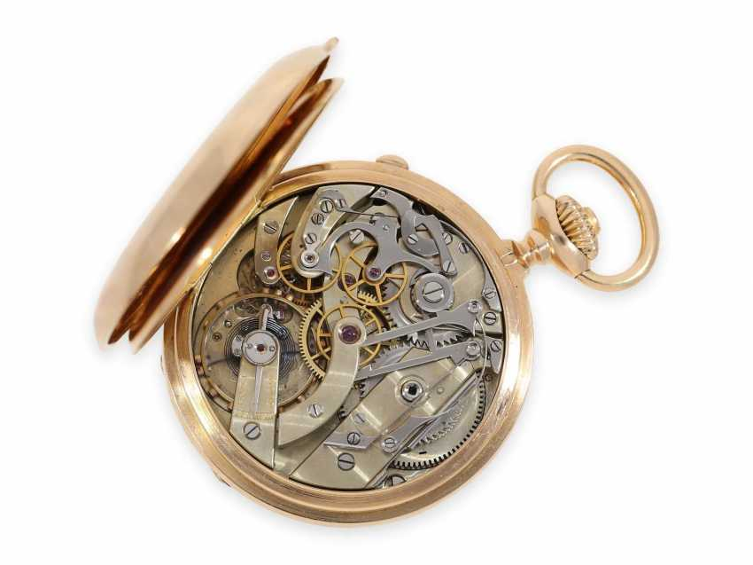 Карманные часы: ранний Patek Philippe Анкерный хронометр с хронографом, доставлен в ПП комиссионера каменщик в Барселоне, №66430, около 1885 - фото 3