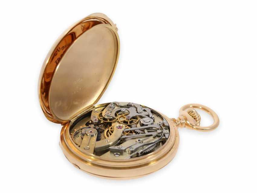 Карманные часы: ранний Patek Philippe Анкерный хронометр с хронографом, доставлен в ПП комиссионера каменщик в Барселоне, №66430, около 1885 - фото 4