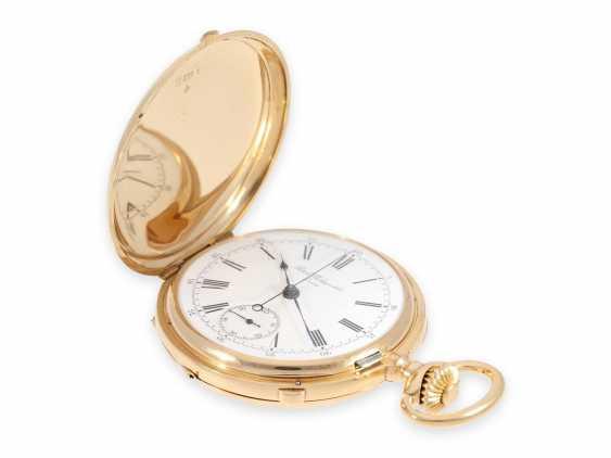 Карманные часы: ранний Patek Philippe Анкерный хронометр с хронографом, доставлен в ПП комиссионера каменщик в Барселоне, №66430, около 1885 - фото 6