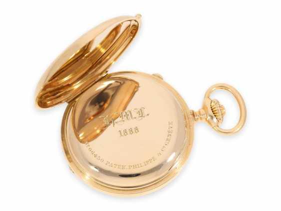 Карманные часы: ранний Patek Philippe Анкерный хронометр с хронографом, доставлен в ПП комиссионера каменщик в Барселоне, №66430, около 1885 - фото 8