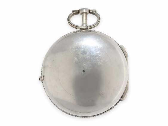 Pocket watch/Karossenuhr: extremely rare Italian Karossenuhr with Repetition and alarm, Mauro Pastorino Roma, CA. 1780 - photo 5