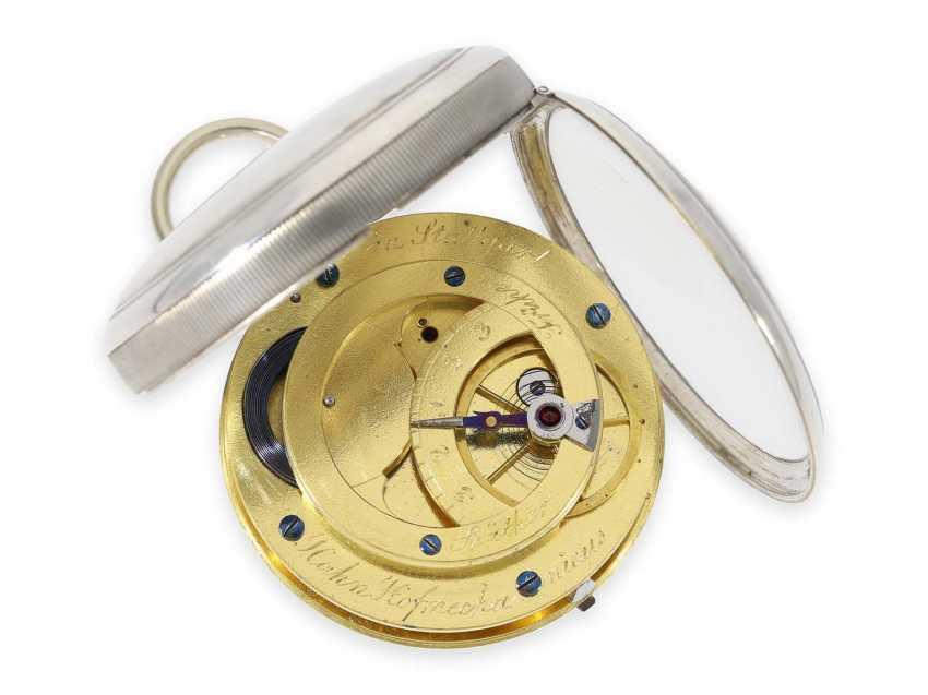 Карманные часы: технически очень интересный цилиндром также имею дизентерии, кран Hofmechanicus в Штутгарт, около 1800 - фото 1