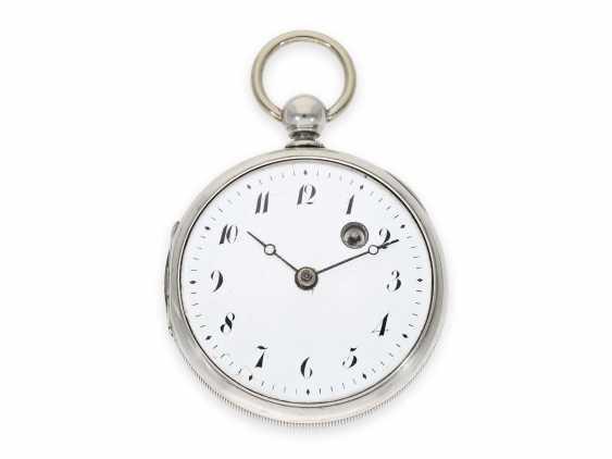 Карманные часы: технически очень интересный цилиндром также имею дизентерии, кран Hofmechanicus в Штутгарт, около 1800 - фото 2
