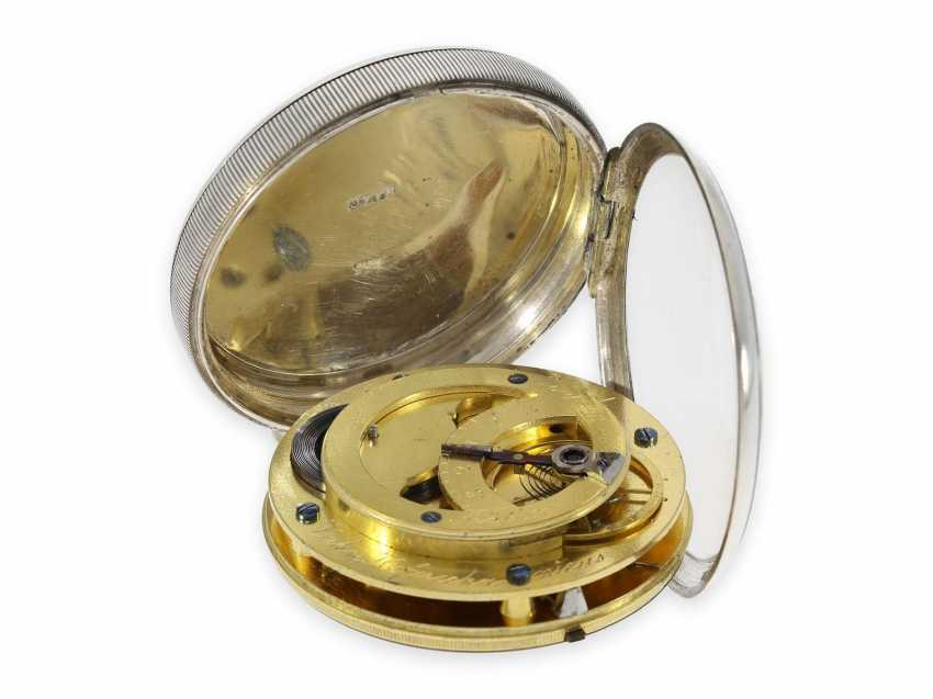 Карманные часы: технически очень интересный цилиндром также имею дизентерии, кран Hofmechanicus в Штутгарт, около 1800 - фото 3