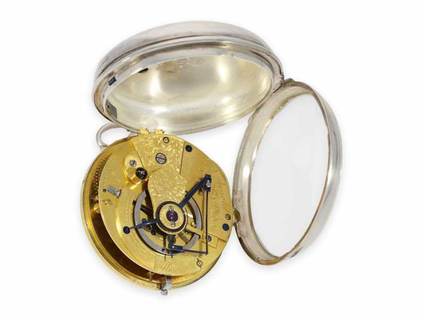 """Pocket watch: important and extremely rare Arnold Pocket chronometer with """"right-angle compensation"""", Jn.R.Arnold No. 3022, Hallmarks 1818 - photo 3"""