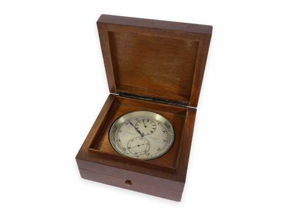 """Pocket watch/Watch: extremely rare Vacheron & Constantin Observation chronometer with Regulator dial and anhaltbarer second """"Heure Exacte"""", CA. 1930 - photo 1"""