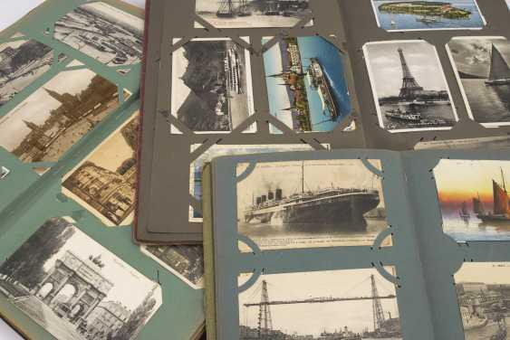 3x открытка альбом вместе с ca 644 открытки до 1945 года - фото 2