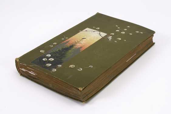 Вероятно, оригинальную открытку, альбом с ca 400 открыток - фото 1