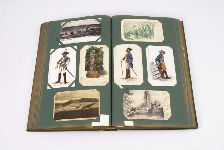 Вероятно, оригинальную открытку, альбом с ca 400 открыток - фото 2
