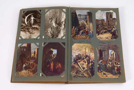 Открытка альбом с Мастроянни-художник карт - фото 2