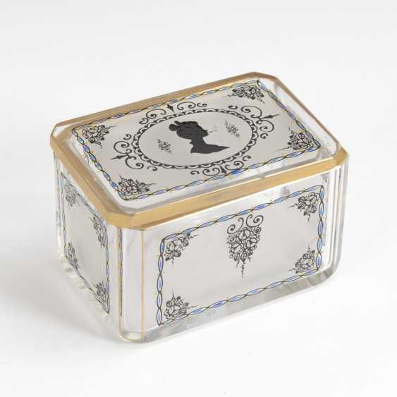 Box with enamel painting, STEINSCHÖNAU - photo 1