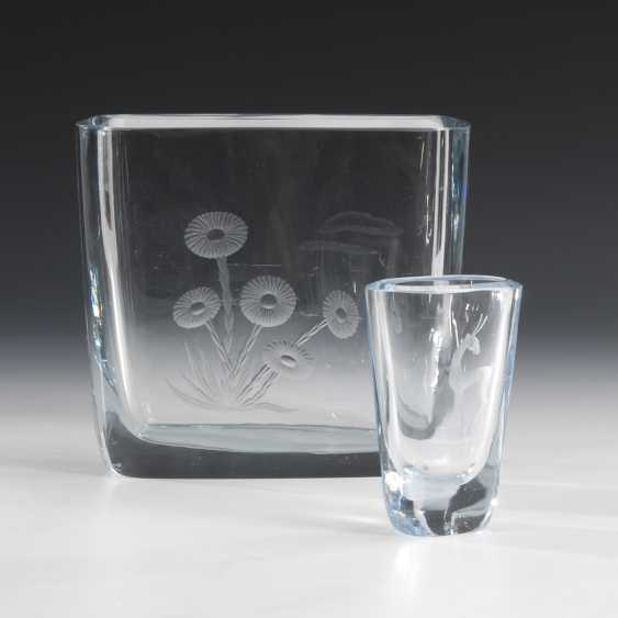 2 Studio glass vases, STRÖMBERGSHYTTAN - photo 1