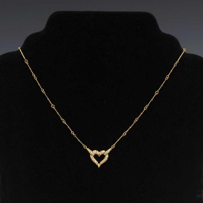 Necklace with diamonds - photo 1