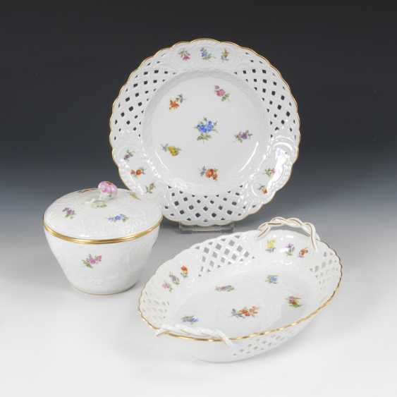 Breakthrough Cup, plate and box, MEISSEN - photo 1