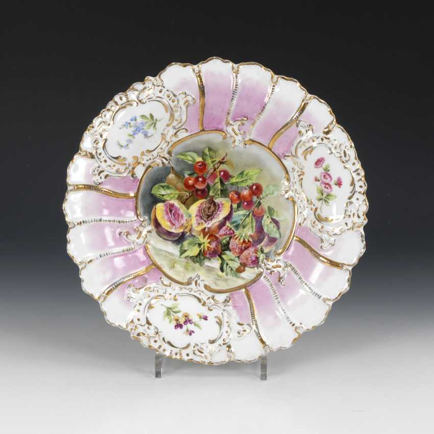 Bowl with fruit painting, MEISSEN - photo 1