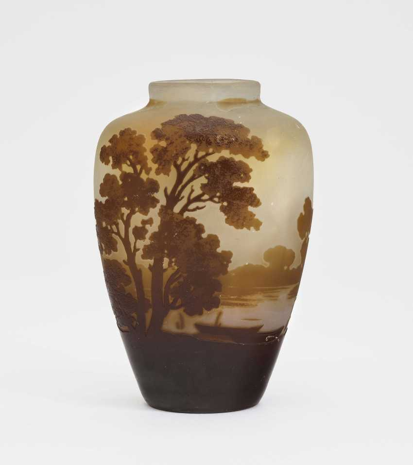 Vase, Emile Gallé, Nancy, 1900-1910 - photo 1