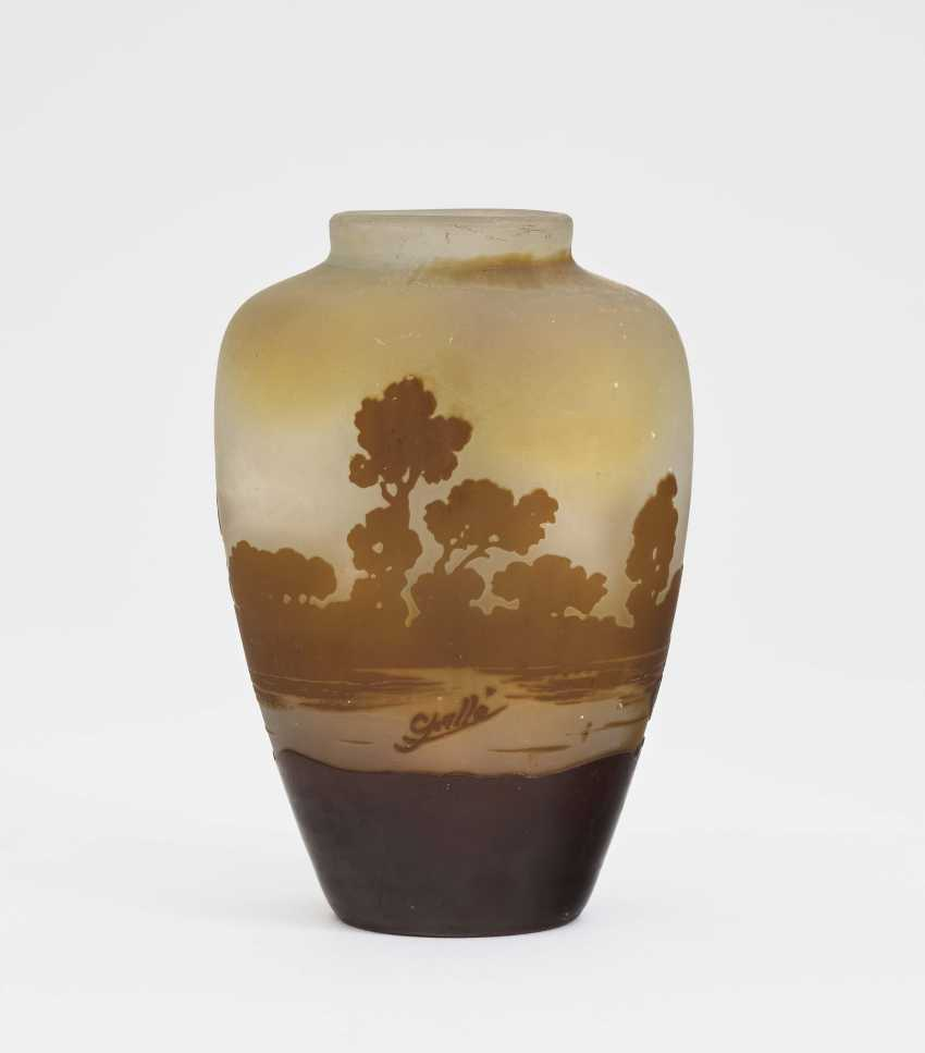 Vase, Emile Gallé, Nancy, 1900-1910 - photo 2