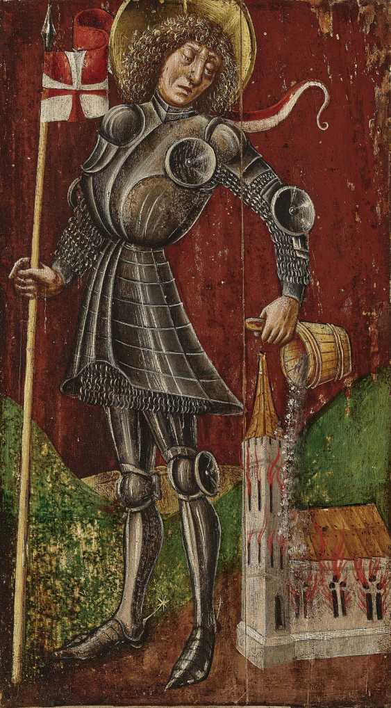 СВТ. Florian , Süddeutsch 2. Половины 15. Века - фото 1