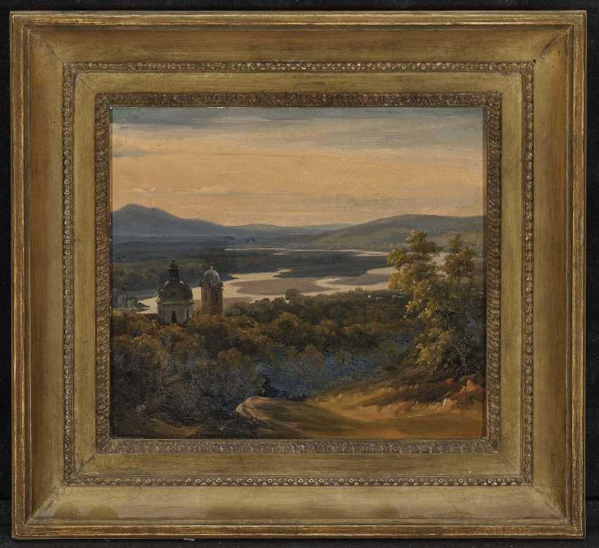 Views of the Salzach river , South German or Austrian 19. Century - photo 2