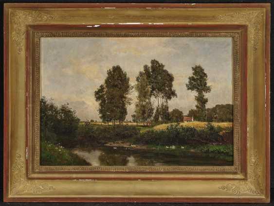 Пейзаж с крестьянской усадьбе , РЕТ, Филипп 1841 Дармштадт - Мюнхен 1921 - фото 2
