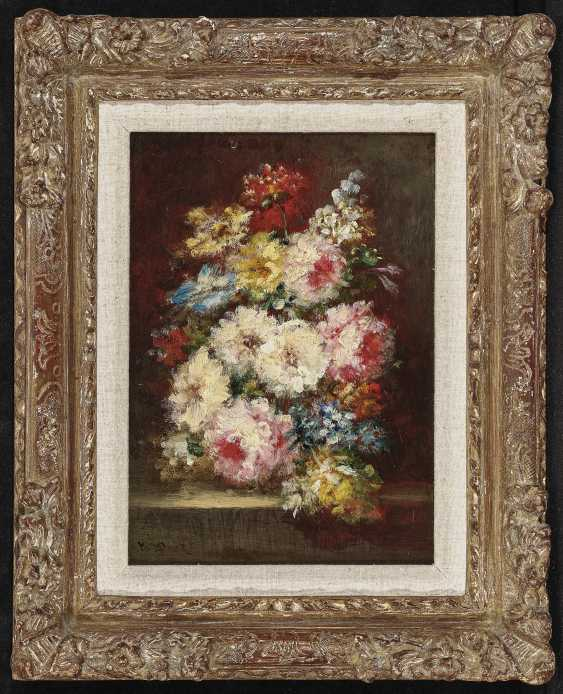 Bouquets Of Flowers, Two Paintings. , Diaz de la Peña, Narcisse Virgile - photo 3