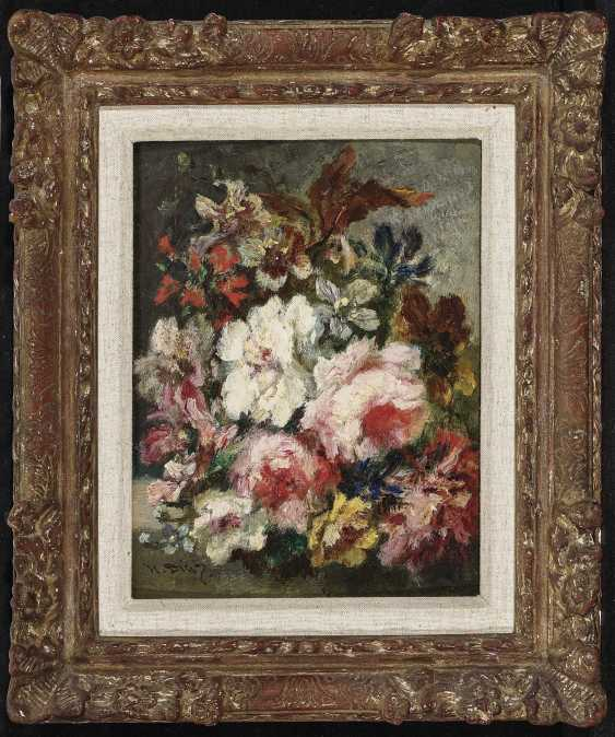 Bouquets Of Flowers, Two Paintings. , Diaz de la Peña, Narcisse Virgile - photo 4