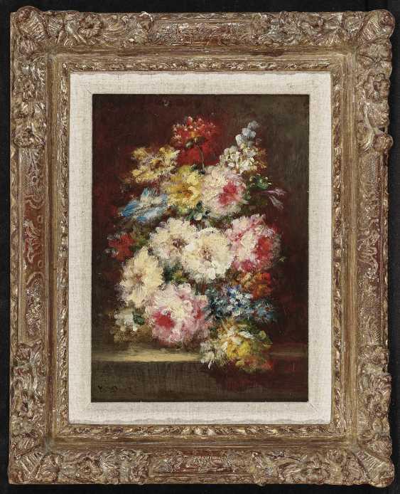 Bouquets Of Flowers, Two Paintings. , Diaz de la Peña, Narcisse Virgile - photo 5