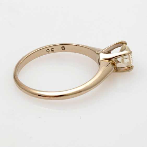 Ladies ring white gold 14 K, 2-piece - photo 6