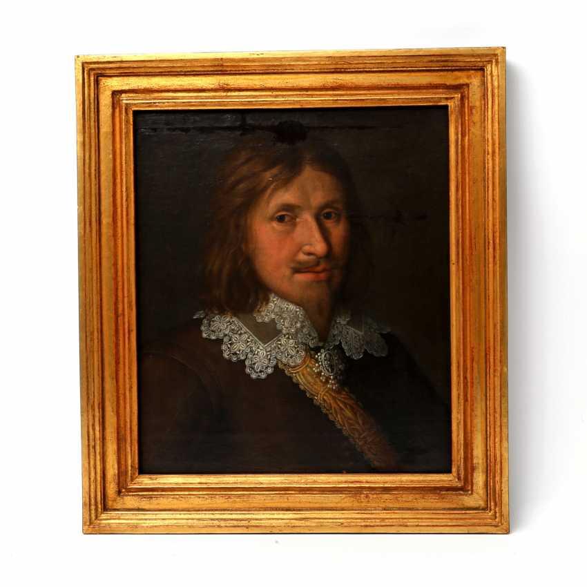 """MALER des 17. Jahrhundert, """"Ratsherr Andreas Eckhard"""" - photo 2"""